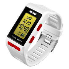 SKMEI Mens Women Digital Swimming LED Electronic Alarm Wristband Bracelet Watch