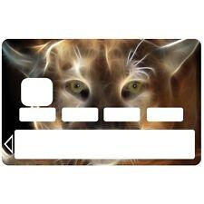 Stickers Autocollants Skin Carte de Crédit CB Lynx 1069 1069