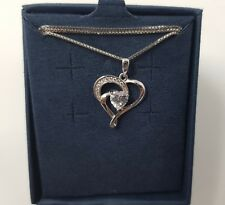 Silver Necklace, J.Rosée Jewellery 925 Sterling Silver 5A Cubic Zirconia