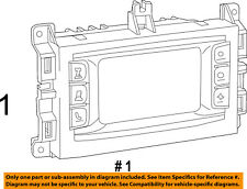 Jeep CHRYSLER OEM Grand Cherokee-Stereo Audio Radio Dash Head Unit 68245297AE