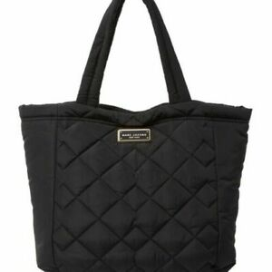 MARC JACOBS-Quilted Nylon CROSBY Tote-Black-NEW WITH TAG-AUTHENTIC