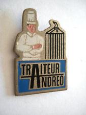 PINS TRAITEUR ANDREO ORANGE VAUCLUSE