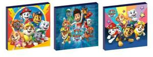 PAW PATROL CANVAS WALL ART PLAQUES/PICTURES set of 3 SET B