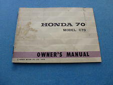 HONDA 50 65 90 ORIGINAL OWNER'S MANUAL C100 C102 C65 CM91 1966 1967 OWNERS