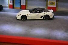 Ferrari 599XX Blanche #2 1/43 hotwheels elite 6265