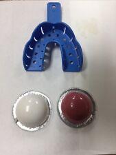 BOTTOM Gold Grillz mold kit gold teeth impression set putty 10+ Teeth