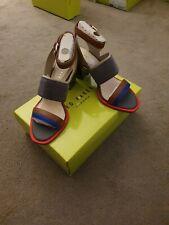 Ted Baker Ladies Block Heel Shoes BNIB. UK Size 5. Grey Dress Shoes RRP £120