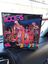 Barbie 1986 The Rockers Live Concert Instruments Play Set Mattel