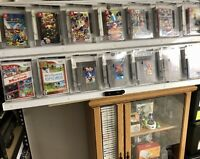 Video Gaming Display Cabinet Nintendo Switch NES Gameboy Gamecube Retail Display