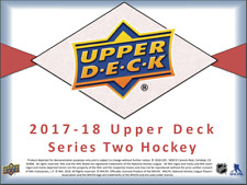 2017/18 Upper Deck UD Series 2 Hockey Hobby 24 Pack BOX (Sealed)