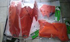 KIT PLASTICHE KTM SX 125 250 300 2004 04 KIT 4 PZ COLORE ARANCIO