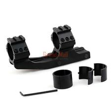 """Tactical 30mm/1"""" Cantilever Scope Dual Mount Heavy Picatinny Weaver Rail"""