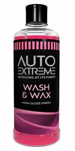 WASH AND WAX CAR CLEANING SHAMPOO WAX POLISH SHINE CAR CARE CLEANER 800 ML
