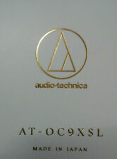 Audio Technica at-oc9 XSL MC-Pick-Up Special line contact 0,4 MV NUOVO E OVP
