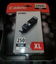 NEW Canon Pixma PGBK 250 XL PGBK Black Ink Cartridge