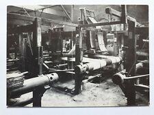 Dunfermline 1890s Fife, Scotland, Linen Weaving, Modern Postcard.