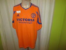 """FC Schalke 04 Original Adidas Auswärts Trikot 2003/04 """"Victoria"""" Gr.XL TOP"""
