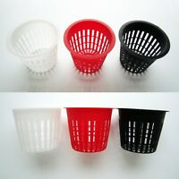 "10X Heavy Duty Mesh Pot Net Cup Basket Hydroponic Aeroponic Plant Grow Clone 3"""