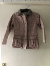 Coat Jacket Age 9-10 Years. Girls. Beige. By NEXT