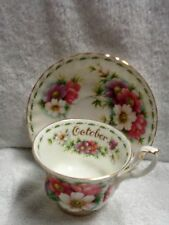 Royal Albert Flower of the Month October  1970  Cup and Saucer