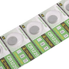 Wholesale High Quality Button battery 5 Pcs 3V Cells Coin Button Battery CR1220