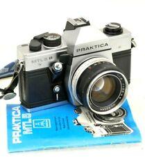 PRAKTICA MTL5 with 55mm Lens - Ideal Student / Starter 35mm Film Camera