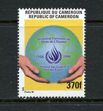 W998 Cameroun 1998 Human Rights RARE! 1v. MNH