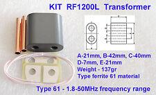 KIT RF1200L Transformer for Amplifier on LDMOS BLF188, BLF188XR, BLF578 BLF578XR