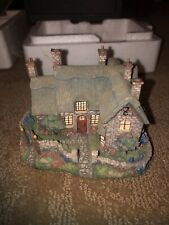 Thomas Kinkade Enchanted Cottage McKenna's English Fairy Sculpture Hawthorne