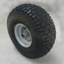 15x6.00-6 15x600-6 15/6.00-6 15/600-6 Lawn Mower Go Kart Tire Rim Wheel Assembly