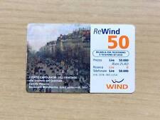 RICARICA TELEFONICA - WIND - I 100 CAPOLAVORI DELL'ERMITAGE -PAUL GAUGUIN -50 €