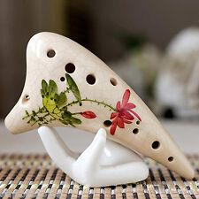 céramique base de main support pour 6 trous / 12 Trous Ocarina Flûte musical