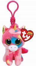 Ty Beanie Babies 36619 Boos Fantasia the Unicorn Boo Key Clip