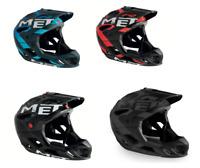 MET Parachute Full Face Enduro/MTB/Mountain/DH Bike/Biking Crash Helmet/Lid