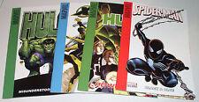 Superhero Comics Four (4) Target Saddle Stitched Issues [Hulk, Spidey, X-Men .