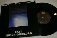 "New listing ROBERT ELLIS ORRALL ** CALL THE UH-OH SQUAD ** 10"" VINYL RECORD"
