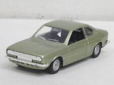 Lancia Beta Coupé 1800 in silbergrünmetallic, ohne OVP, Solido 52, 1:43