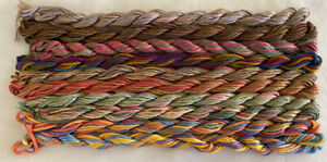 #8 Autumn Colors 10 Caron Waterlilies 12 Ply Silk Thread Without Tags
