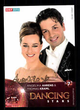 Angelika Ahrens und Thomas Kraml Autogrammkarte Original Signiert ## BC 125972