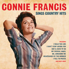 Connie Francis SINGS COUNTRY HITS Best Of 34 Essential Songs NEW SEALED 2 CD
