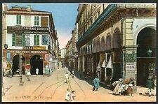 C1920's View of People, Bab-Azoun Street, Alger