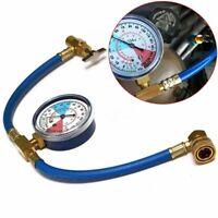 Auto AC R134A Refrigerant Air Conditioning  Recharge Hose  Car Pressure Gauge