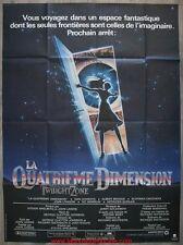 LA QUATRIEME DIMENSION TWILIGHT ZONE Affiche Cinéma / Movie Poster 160x120
