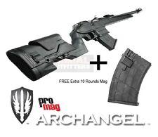 ProMag Mosin Nagant Archangel Tactical Stock Black + FREE 10rd AA762R Magazine