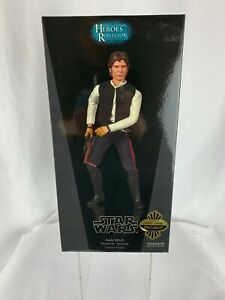 Star Wars 2008 Sideshow Exclusive Han Solo Smuggler Tatooine 1:6 Figure 2170 NEW