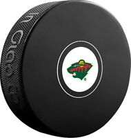 Minnesota Wild NHL Team Logo Autograph Souvenir Hockey Puck