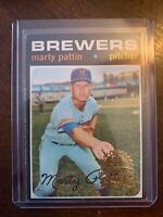 2020 Topps Heritage Buyback 1971 Original 50th Anniversary #579 Marty Pattin