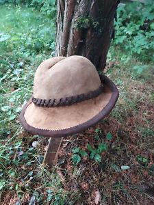 Traditonal Amadou Mushroom Leather Hat