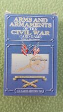 Arms and Armaments of the Civil War Card Game USED U.S. Game Systems, Inc.