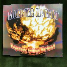 MONSTER MAGNET NEGASONIC TEENAGE WARHEAD 1995 PSYCHE SPACE ROCK METAL CD SINGLE